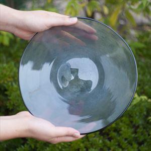 ガラスプレート/kasumi plate M grey/fresco_Image_2
