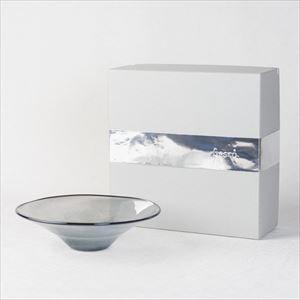 ガラスボウル/kasumi bowl S grey/fresco