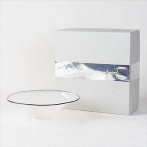 ガラスボウル/kasumi bowl S ivory/fresco