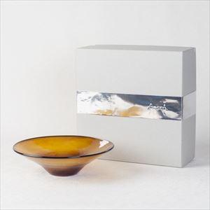 ガラスボウル/kasumi bowl S brownyellow/fresco
