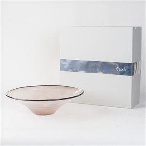 ガラスボウル/kasumi bowl M purple/fresco