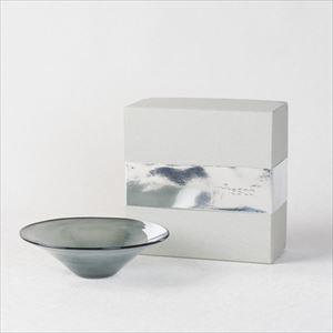 ガラスボウル/kasumi bowl SS grey/fresco