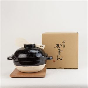 Kamado-san / Donabe rice cooker / 2 rice cup size / Nagatani-en