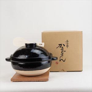 かまどさん土鍋 三合炊き 伊賀焼/長谷園