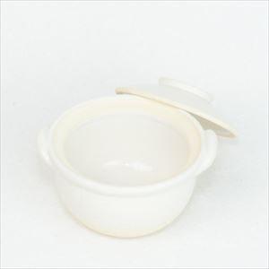 プチ土鍋 ホワイト 伊賀焼/長谷園_Image_1