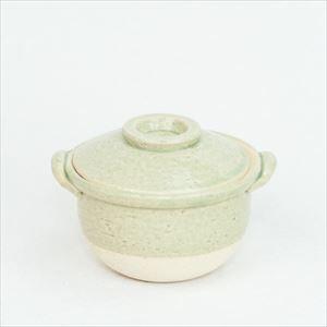 Petite Donabe / Small clay pot / Green / Nagatani-en /