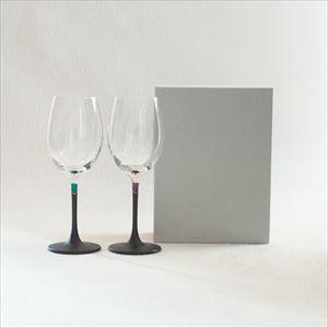 【セット】うるしの WINE GLASS 緑&紫/鳥羽漆芸