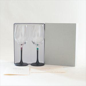 [Set] Pair lacquer colored wine glasses / Green & Purple /Toba Shitsugei_Image_3