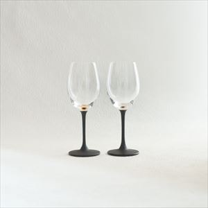 [Set] Pair lacquer colored wine glasses / Gold & Silver / Toba Shitsugei_Image_1