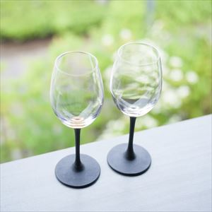 [Set] Pair lacquer colored wine glasses / Gold & Silver / Toba Shitsugei_Image_2