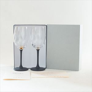 [Set] Pair lacquer colored wine glasses / Gold & Silver / Toba Shitsugei_Image_3