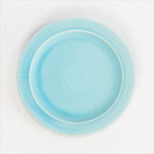 """DAYS プレート小 ターコイズ Sara  7""""plate/SAKUZAN"""