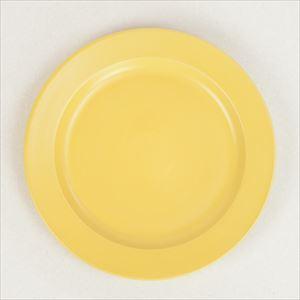 """DAYS プレート大 イエロー Sara  10""""plate/SAKUZAN"""