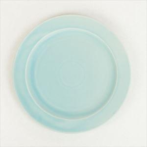 "DAYS プレート大 ターコイズ Sara  10""plate/SAKUZAN"