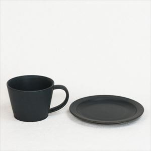 DAYS / Sara Coffee cup & Saucer / Black / Wooden Box / SAKUZAN_Image_1