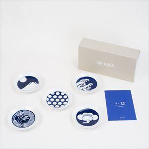 【セット】KOMON 豆皿/季節紋 5点セット/KIHARA