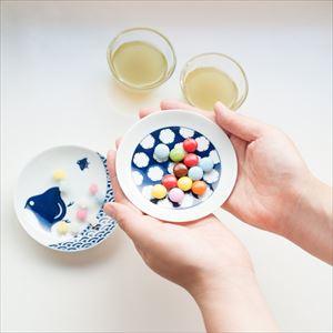 [Set] 5 plates of KOMON Mamezara / Kissho-mon / KIHARA_Image_2