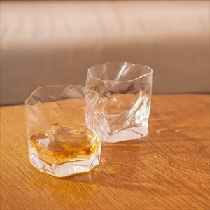 [Set] Pair CRUMPLE OLD / Whiskey glass / Kimura glass_Image_2