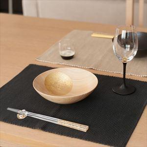 [Set] Pair of Oborozuki bowl / Night moon (Black) & Day moon (Natural) / 6 sun / Hakuichi_Image_2