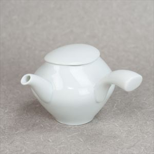 Kyusu / Teapot / Blueish white porcelain / sou sou series / ceramic japan