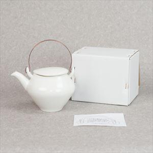 蒼爽 黄磁 土瓶(銅製ツル付) /ceramic japan_Image_3