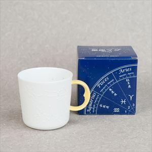 星座マグ 黄色 /ceramic japan