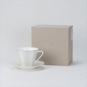 [Set] ELITE MODERN / Tea & coffee cup and saucer / NIKKO