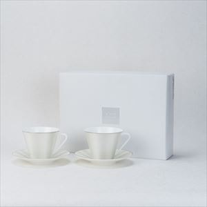[Set] ELITE MODERN / Pair tea & coffee set / NIKKO