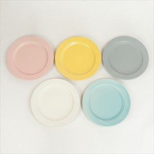 "[Set of 5] DAYS Sara 10"" plate / Colorful / SAKUZAN"