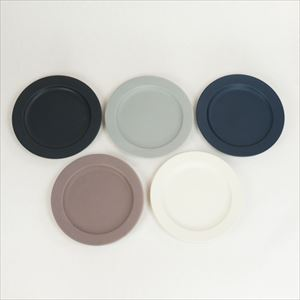 "[Set of 5] DAYS Sara 10"" plate / Monotone / SAKUZAN"