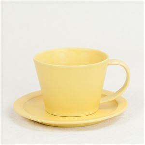 【セット】Sara Coffee Cup & Saucer イエロー /SAKUZAN