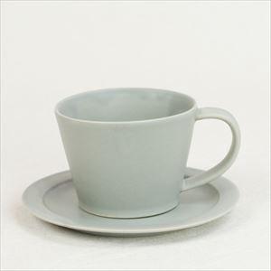 【セット】Sara Coffee Cup & Saucer グレー/SAKUZAN