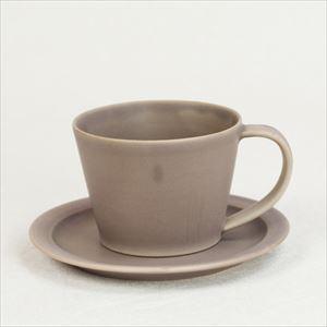 【セット】Sara Coffee Cup & Saucer ブラウン/SAKUZAN