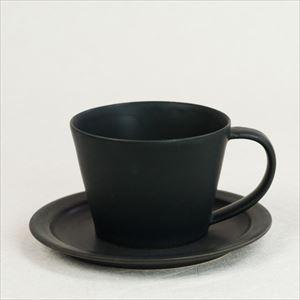 【セット】Sara Coffee Cup & Saucer ブラック/SAKUZAN
