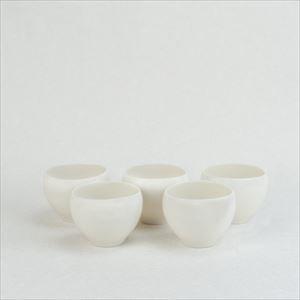 【セット】蒼爽 黄磁 湯呑み(小)5個セット /ceramic japan