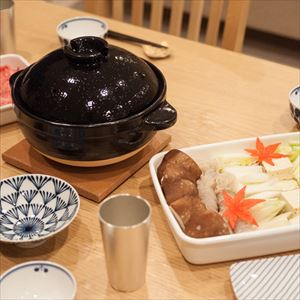 [Set] Easy Nabe party set / Kamado-san 3 rice-cup / Rectangle Shallow M&L_Image_2