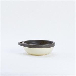 カセロラ オーブンとんすい 白/茶 /4TH-MARKET