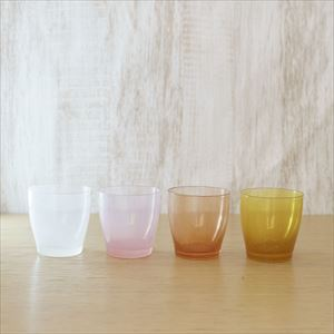 [Set of 4] Warm gradation set / solito glass / fresco