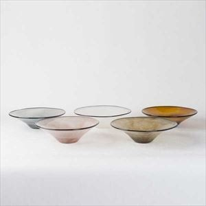 [Set of 5] kasumi bowl / Glass bowl / S / fresco