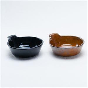 【セット】アグラ とんすいペア 天目(黒)&鼈甲(茶) /4TH-MARKET