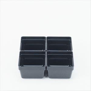 【合わせ買い対象】 4.5寸重箱用 4つ切り仕切 4点セット