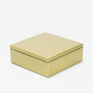 6.5寸 一段重箱 金煌(内黒)/日本デザインストア