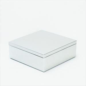 6.5寸 一段重箱 銀煌(内黒)/日本デザインストア