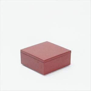 4.5寸 一段重箱 深紅(内黒)/日本デザインストア