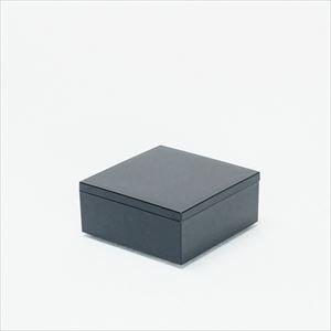 4.5寸 一段重箱 漆黒(内黒)/日本デザインストア