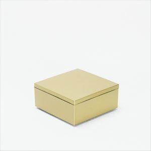 4.5寸 一段重箱 金煌(内黒)/日本デザインストア