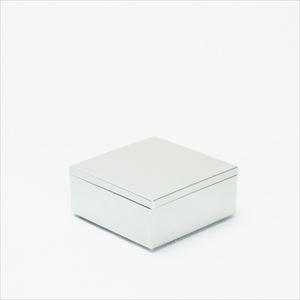 4.5寸 一段重箱 銀煌(内黒)/日本デザインストア