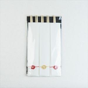 【合わせ買い対象】 祝い箸 梅水引飾りつき 5膳セット