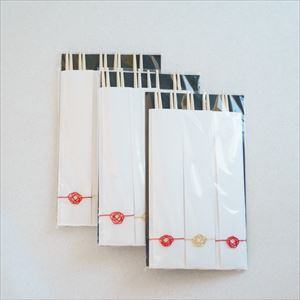 [Add-on Items] [Set of 15] Celebration chopsticks / 3 bags × 5 pairs of chopsticks