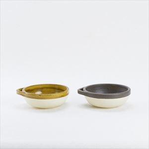 【セット】カセロラ オーブンとんすいペア 白/黄&白/茶/4TH-MARKET